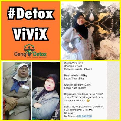 Testimoni Detox Shaklee
