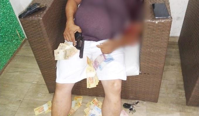 Suspeito de assassinar esposa e enteada é encontrado morto em motel, em JP
