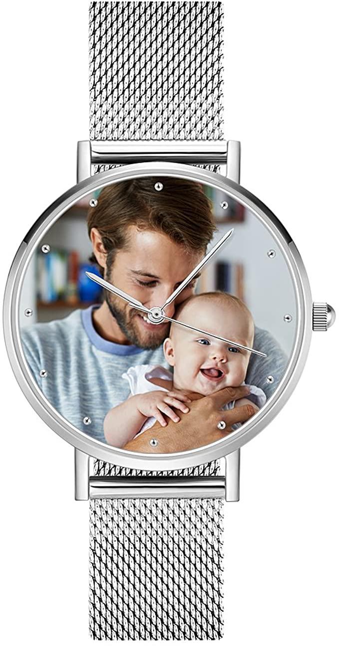 Reloj pulsera personalizado con su foto