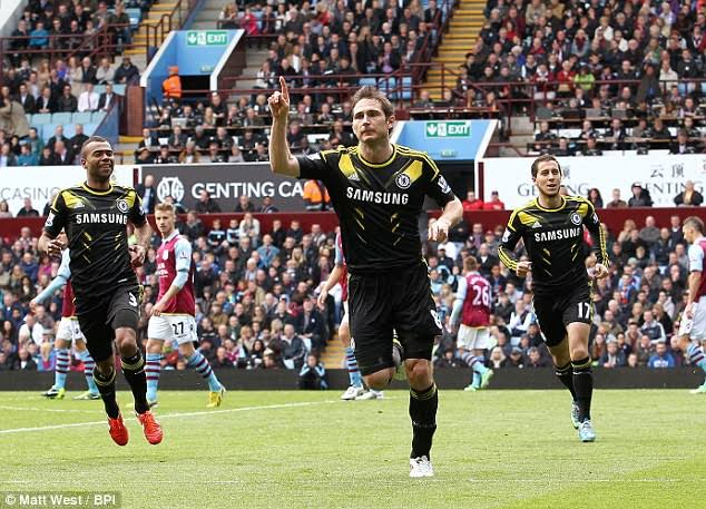 Chelsea Game Against  Villa Match Of Mixed Emotions For Lampard