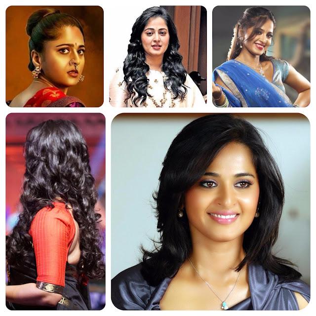 Anushka Shetty Hairstyles