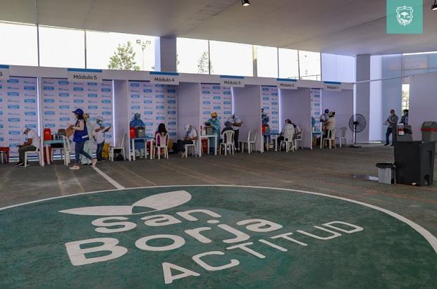 San Borja habilita centro de vacunación contra covid-19 en alianza con EsSalud