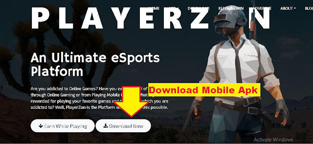 download PlayerZon App to earn money