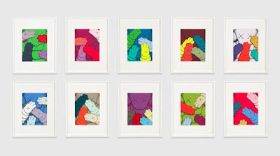 """URGE"" Screen Print Portfolio Set by KAWS"