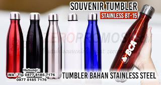 Tumbler Bahan Stainless Steel Untuk Dijadikan Barang Promosi