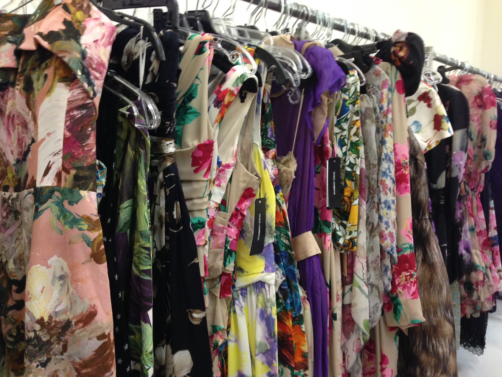 f0c878356545a Dolce   Gabbana Sample Sale Is Light On Shoes And Accessories ...