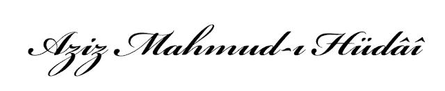 Aziz Mahmud-ı Hüdâî (Üsküdârî) - Edeple gir azizim, türbe-i pak-i Hüdâyî'dir!