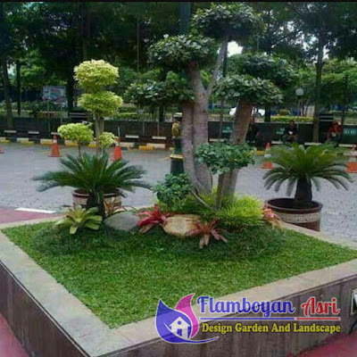 Jasa Tukang Taman Surabaya Model Taman Mungil