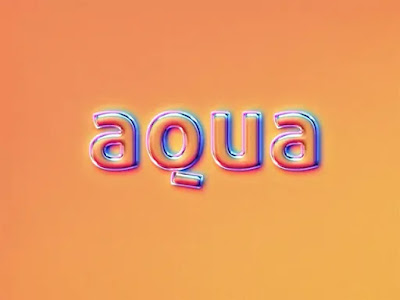 Glossy Holographic Text Logo Effects Premium Collection (3d Text Mockup)