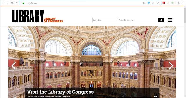 مكتبة الكونجرس (Library of Congress)