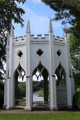 Gothic temple, Painshill © A Knowles