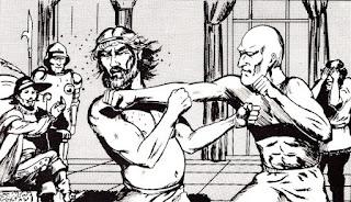 Magen boxing match.