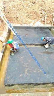 mengatasi kebocoran dengan waterproofing membrane