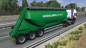 Cement trailer mod
