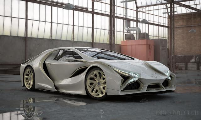 Έλληνας σχεδίασε το πρώτο ελληνικό αυτοκίνητο «supercar» και είναι εμπνευσμένο από γλάρο