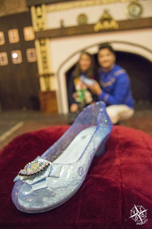 El zapato de Cenicienta :)