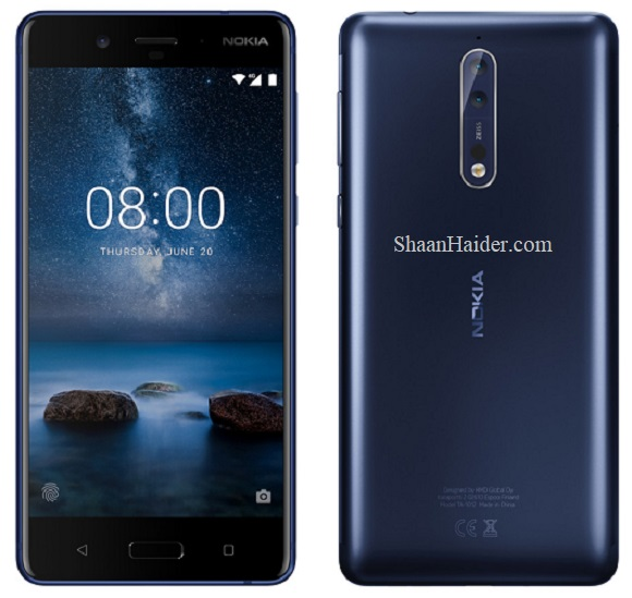 Nokia 8 : Hardware Specs, Features, Prices and Availability
