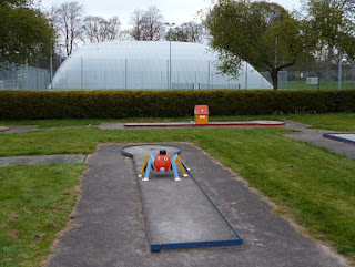 Crazy Golf course at Bitts Park in Carlisle