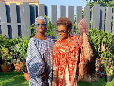 I Got The Swag From My Mum, DJ Cuppy Revealed, Pictured With Her Mum. PHOTOS