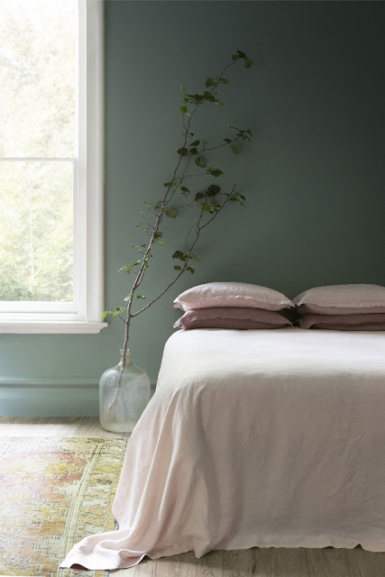 groen slaapkamer