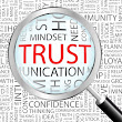"Do You Communicate ""Trust"" Because You Merit Trustworthiness?"