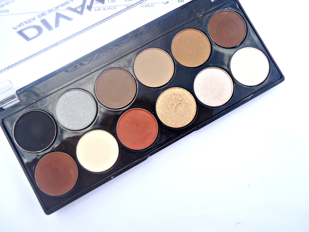 #1 Paleta de sombras Divamor