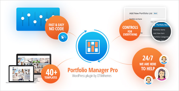 Download Portfolio Manager Pro v3.0 - Responsive Portfolio & Gallery