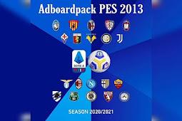 Adboard Pack Serie A Season 2020/2021 - PES 2013