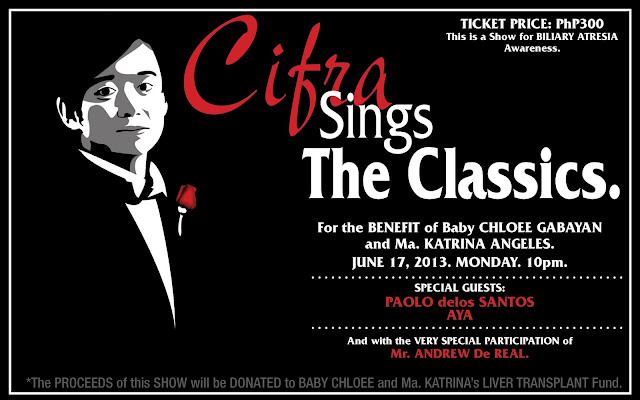 Cifra Sings The Classics. A Benefit Concert.