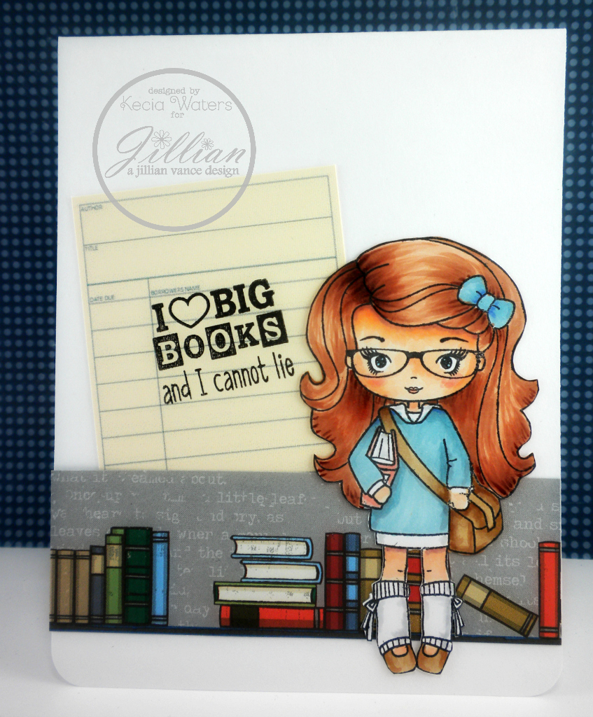 AJVD, Whimsie Doodles, Copic markers, Kecia Waters