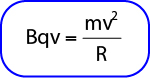 Rumus Lintasan partikel yang bergerak dalam medan magnet