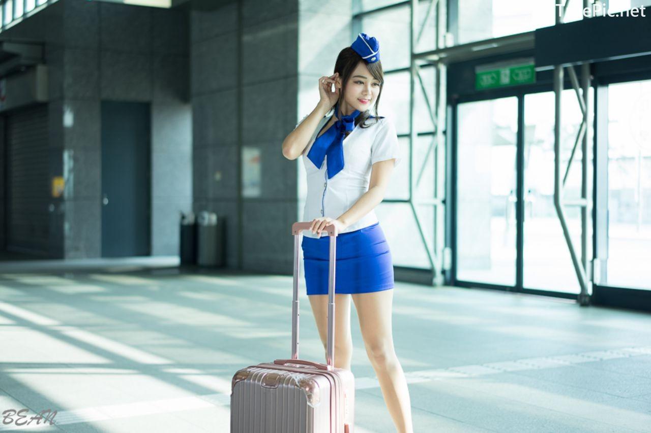 Image-Taiwan-Social-Celebrity-Sun-Hui-Tong-孫卉彤-Stewardess-High-speed-Railway-TruePic.net- Picture-3
