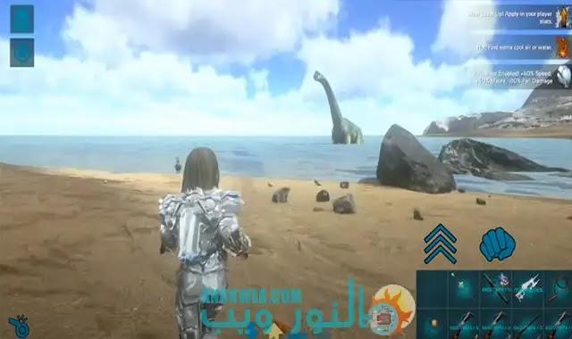 تحميل لعبة ark survival evolved مهكرة
