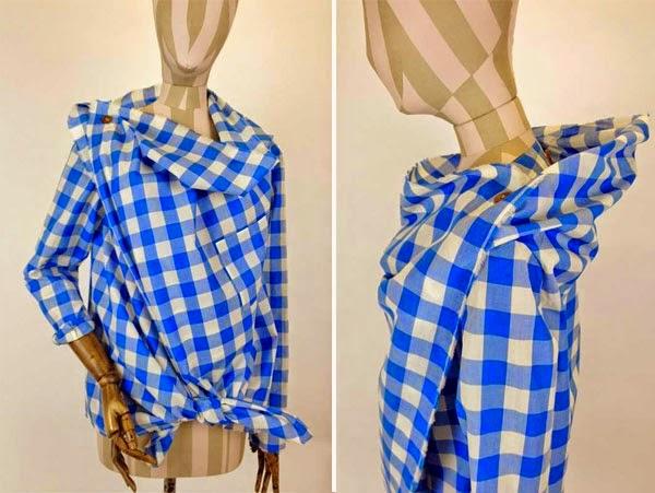 Camisa de Vivienne Westwood tutorial y patrones
