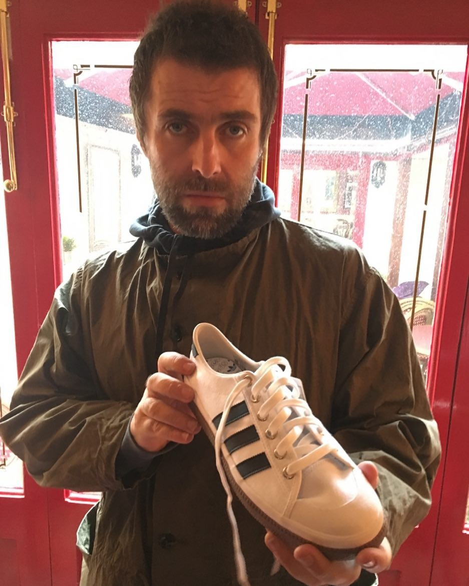 Liam Gallagher Adidas Spezial Trainers Incoming - Latest ...