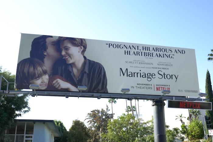 Marriage Story Poignant billboard