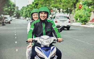Grab đầu tư lớn vào thị trường đi chung xe máy