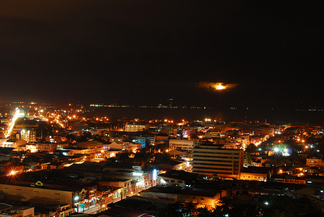 Davao City View at Night View. A crown Jewel of Mindanao