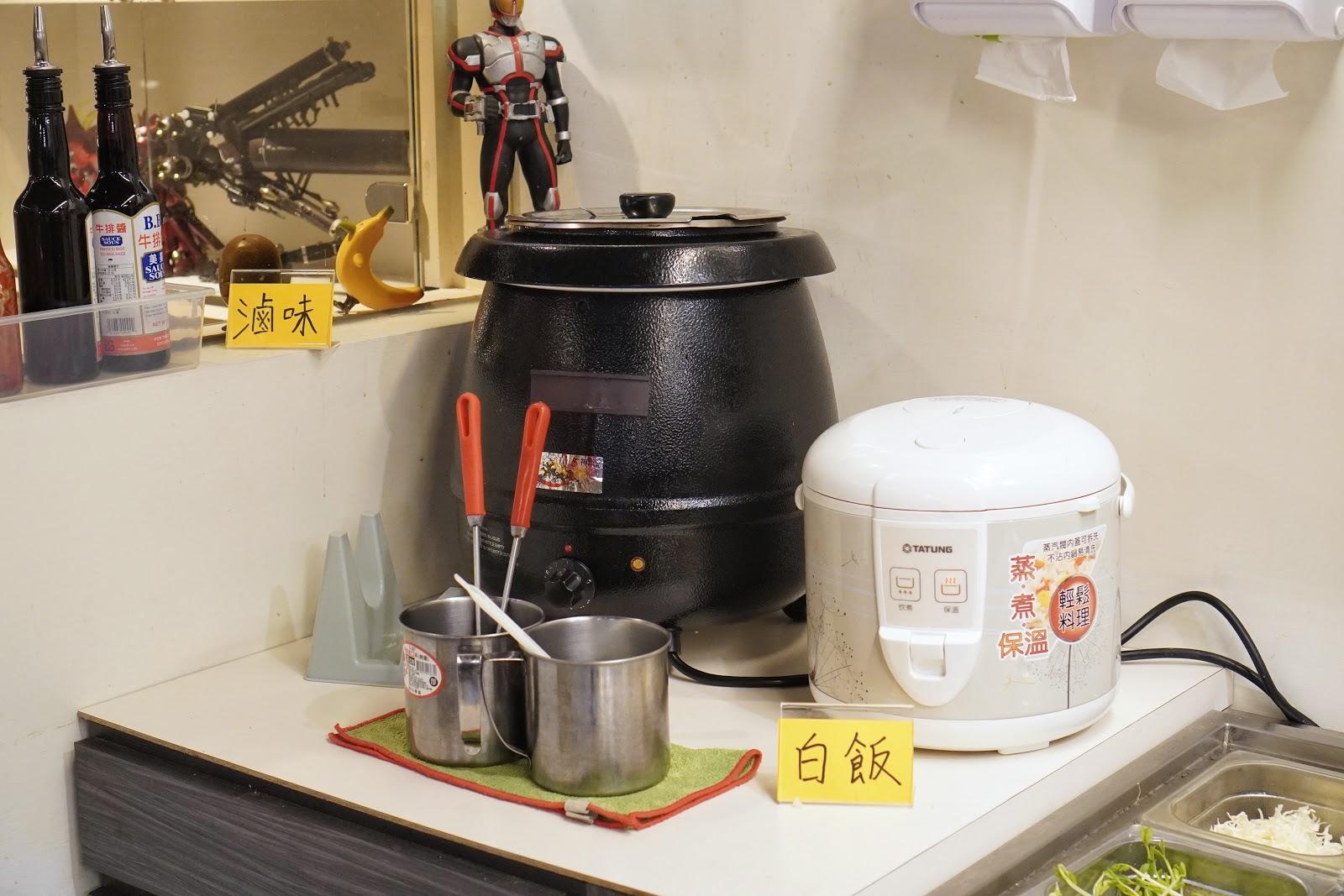 台南東區美食【大大力牛排館】白飯、滷味吃到飽