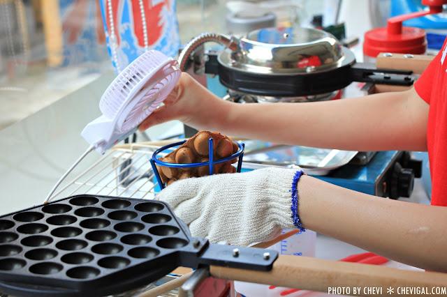 IMG 0297 - 一中商圈│藍箱處Blue Box-分子冰淇淋雞蛋仔*少女心的清爽夢幻逸品。隱身在巷弄間的IG打卡新景點