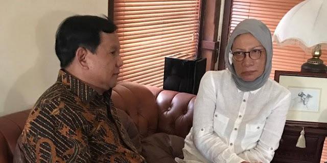 Prabowo: Penganiayaan Ratna Sarumpaet tindakan pengecut