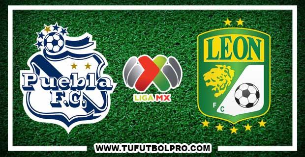 Ver Puebla vs León EN VIVO Por Internet Hoy 30 de Octubre 2016