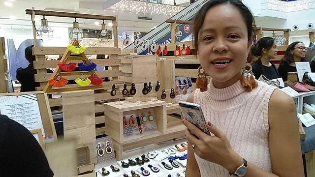 Shopping at BPI Sinag ng Pasko Bazaar