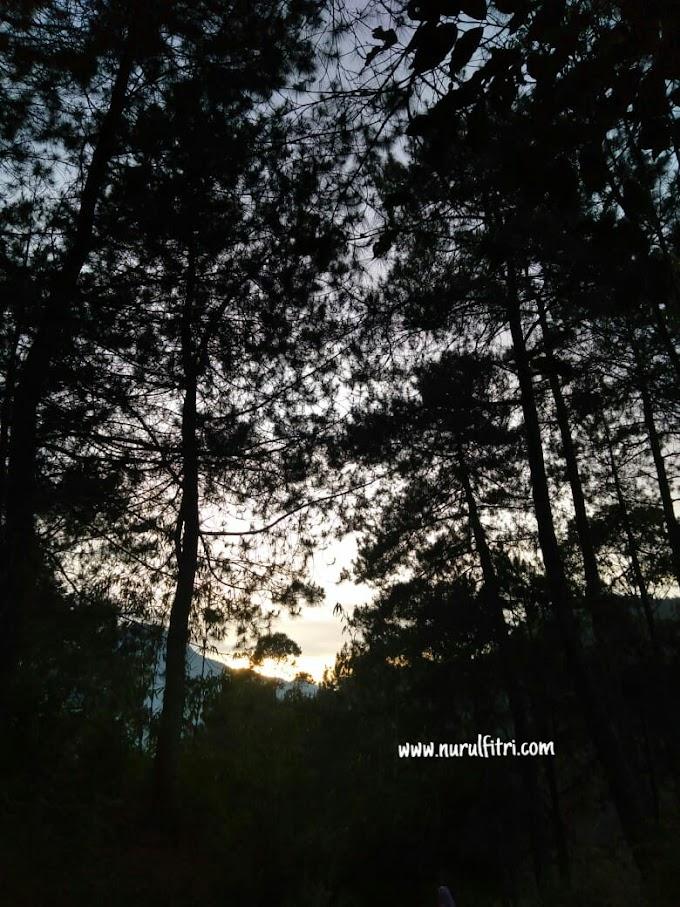(Gagal) Mengejar Sunrise di Patahan Lembang Bukit Moko