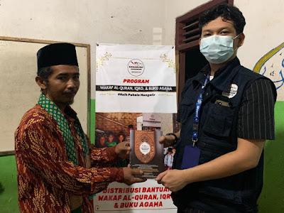 Senabung Lampung Distribusikan Wakaf Al-Quran