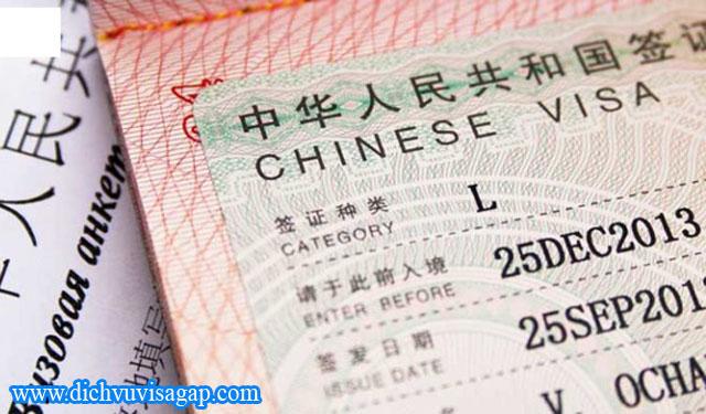 Dịch vụ làm visa Trung Quốc cho các tỉnh miền tây