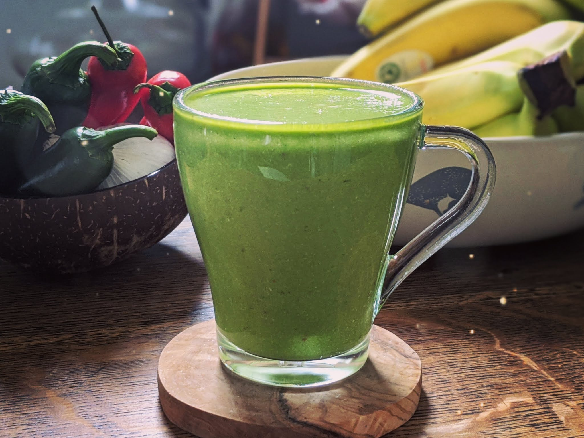 Green Smoothie littlepackofvegans