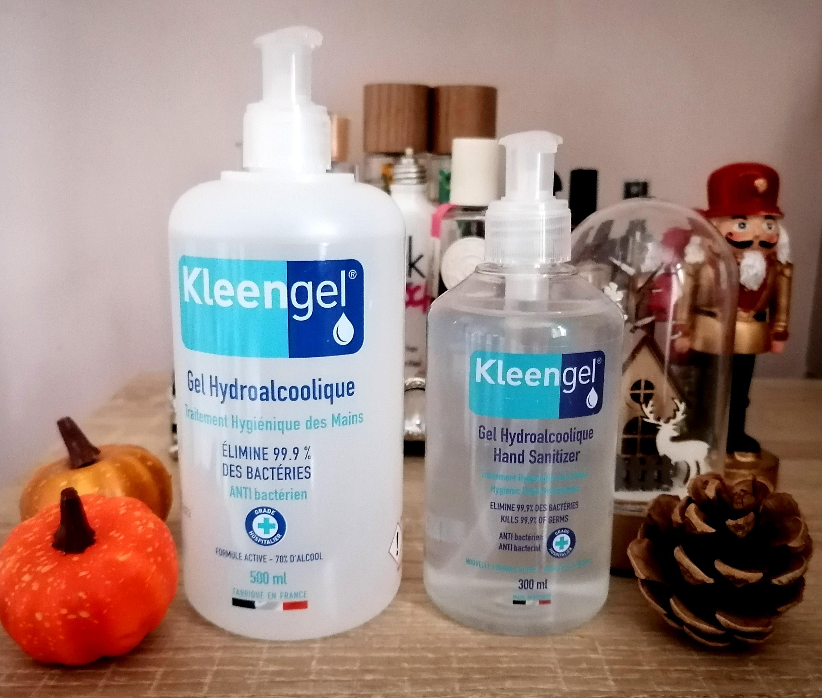 KLEENGEL, les gels hydroalcoolique français qui m'accompagnent au quotidien! 😷