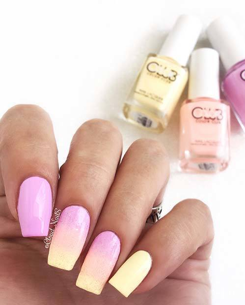 Stylish Nails Art for Summer To Copy