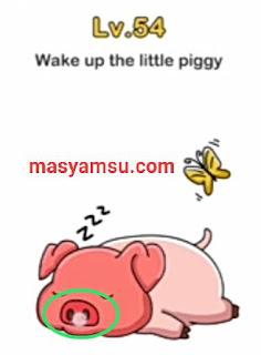 Brain Out adalah aplikasi teka - teki atau tebak gambar yang sangat seru dan populer. Berikut ini adalah penjelasan kunci jawaban Coba Bangunkan Si Piggy Brain Out.